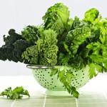 Листовые овощи